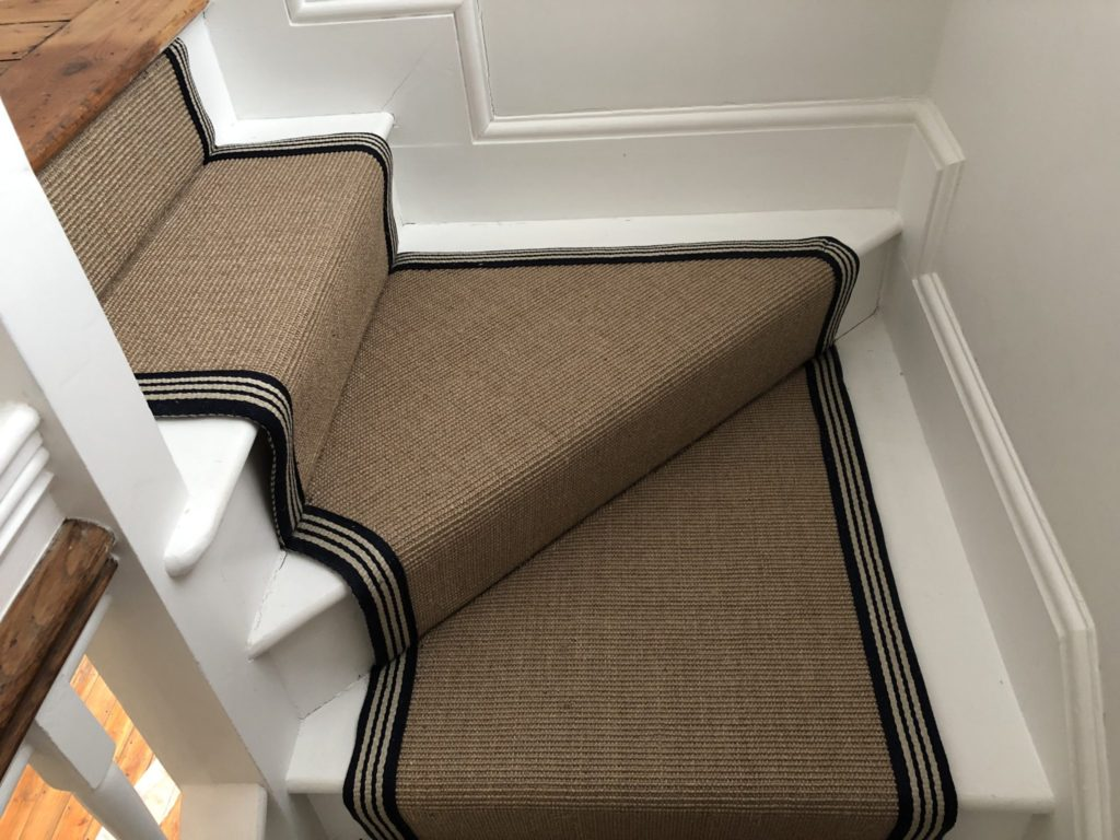 Bathwick - Stairs - Alternative Flooring - Sisal carpet runner